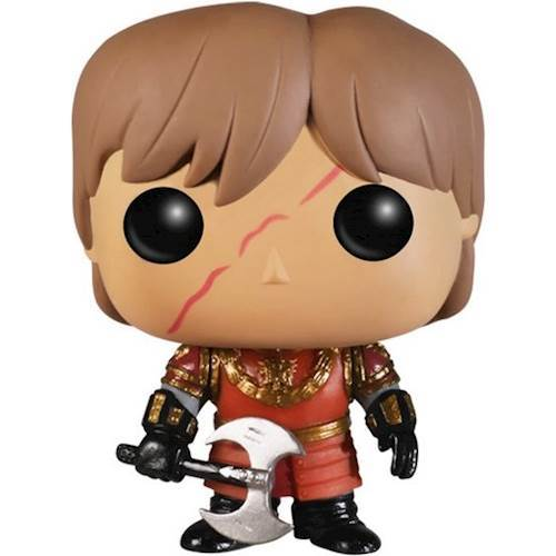 Funko - POP! TV: Game of Thrones: Tyrion Lannister with Scar Battle Armour 5672323
