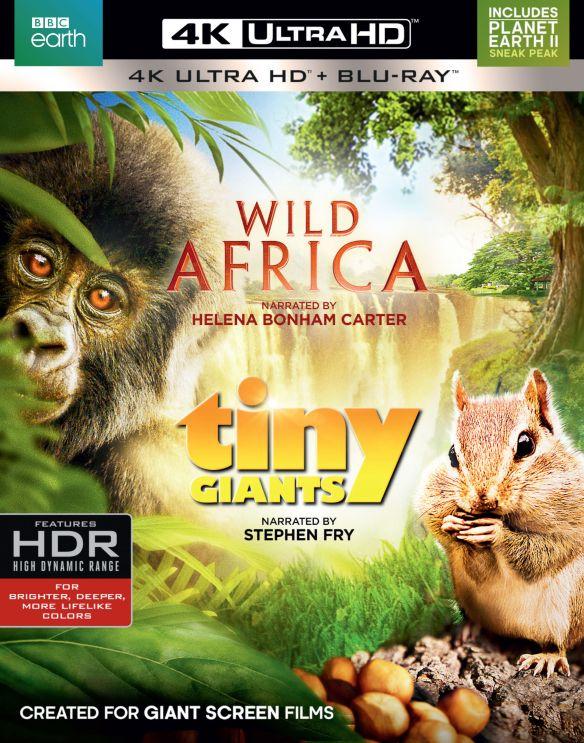 Wild Africa/Tiny Giants [4K Ultra HD Blu-ray/Blu-ray] 5678300