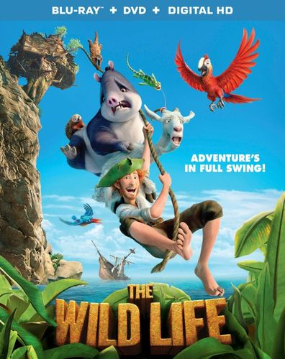 The Wild Life [Blu-ray/DVD] [2 Discs] [2016] 5678325