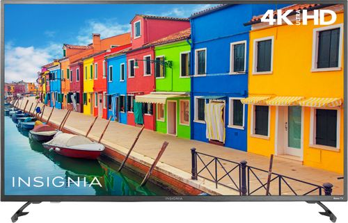 "Insignia™ - 43"" Class - LED - 2160p - Smart - 4K UHD TV with HDR Roku TV"