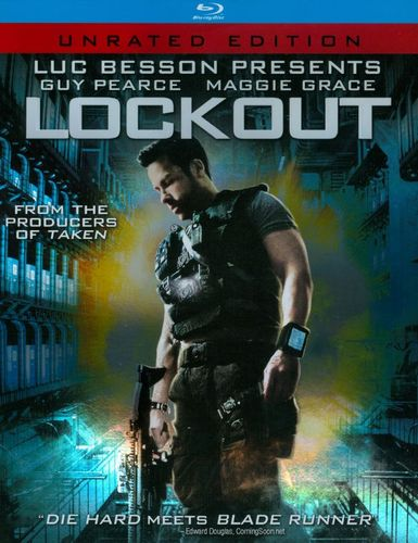 Lockout [Blu-ray] [Unrated] [Includes Digital Copy] [UltraViolet] [2012] 5681709