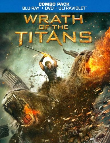 Wrath of the Titans [2 Discs] [Includes Digital Copy] [UltraViolet] [Blu-ray/DVD] [2012] 5681936