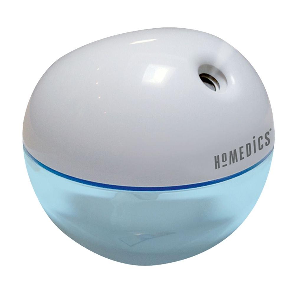 HoMedics 0.05 Gal. Ultrasonic Humidifier Gray HUM-CM10