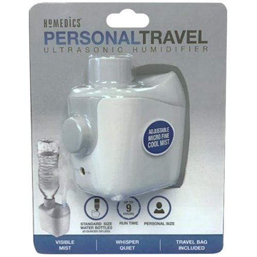 HoMedics - Ultrasonic Cool Mist Humidifier - Gray/white 5682200