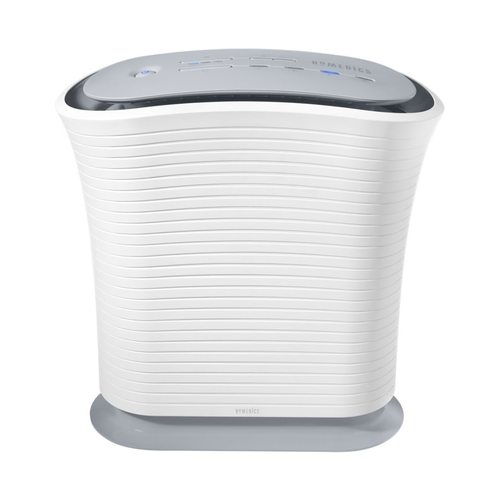 HoMedics - Console Air Purifier - Gray/White 5682800