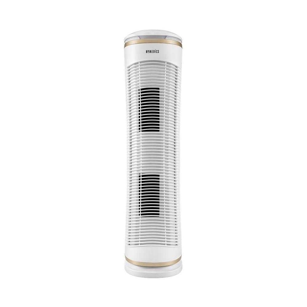 HoMedics - Tower Air Purifier - White 5683001