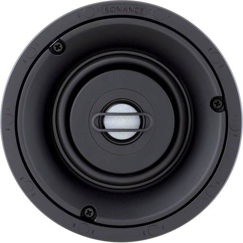 "Sonance - Visual Performance 4-1/2"" Passive 2-Way In-Ceiling Speaker (Each) - Paintable White"