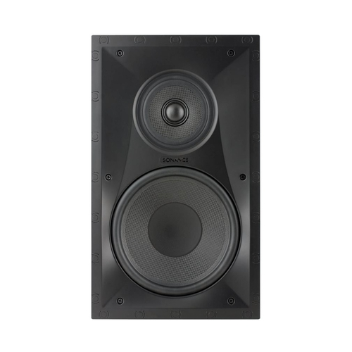 """Sonance - Visual Performance 8"""" 3-Way In-Wall Speaker (Each) - Paintable White"""