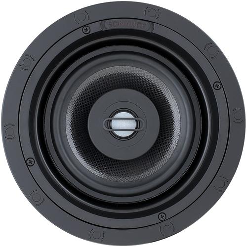 "Sonance - Visual Performance 6-1/2"" Passive 2-Way In-Ceiling Speaker (Each) - Paintable White"