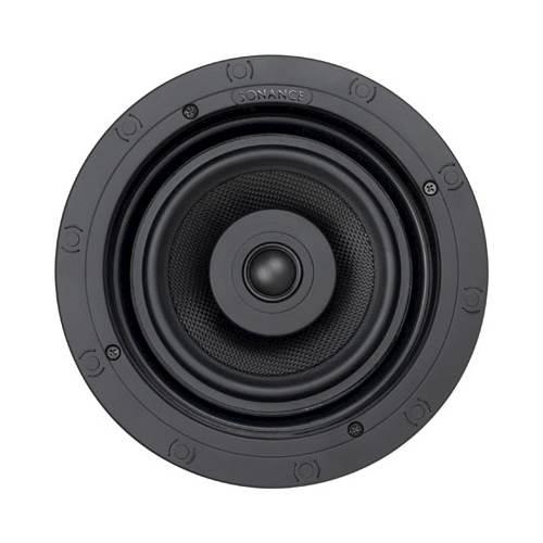 "Sonance - Visual Performance 6-1/2"" 2-Way In-Ceiling Speaker (Each) - Paintable White"