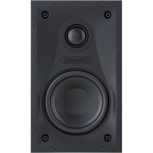 """Sonance - Visual Performance 4-1/2"""" Passive 2-Way In-Wall Speaker (Each) - Paintable White"""