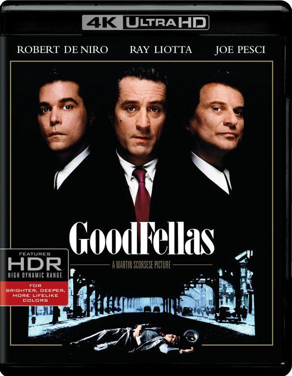 Goodfellas [4K Ultra HD Blu-ray/Blu-ray] [UltraViolet] [Includes Digital Copy] [1990] 5686812