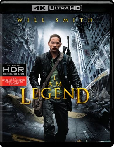 I Am Legend [4K Ultra HD Blu-ray/Blu-ray] [UltraViolet] [Includes Digital Copy] [2007] 5686814