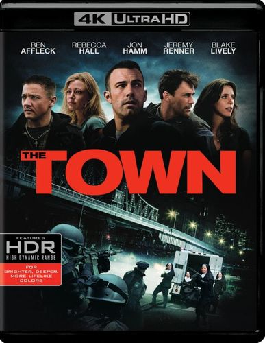 The Town [4K Ultra HD Blu-ray/Blu-ray] [UltraViolet] [Includes Digital Copy] [2010] 5686815