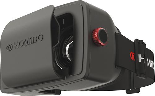 Homido - V1 Virtual Reality Headset - Black 5688307