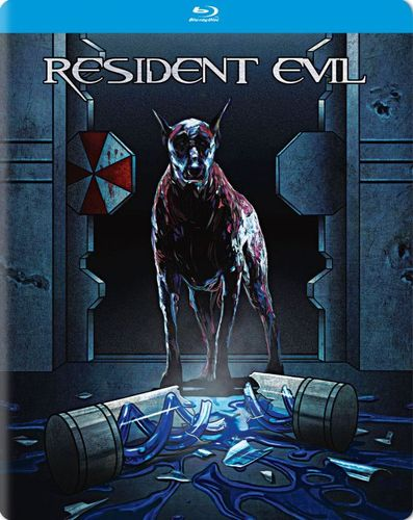 Resident Evil [Blu-ray] [SteelBook] [2002] 5694301