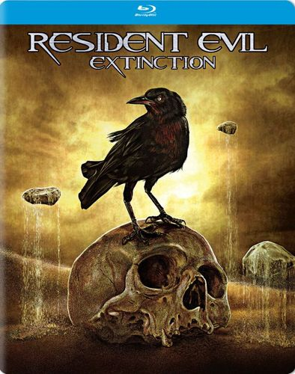 Resident Evil: Extinction [Blu-ray] [SteelBook] [2007] 5694501