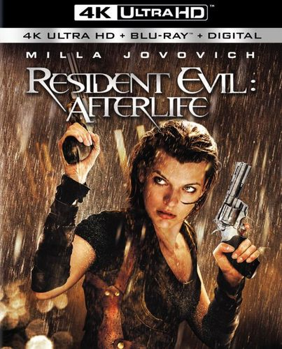 Resident Evil: Afterlife [4K Ultra HD Blu-ray/Blu-ray] [2010] 5706568