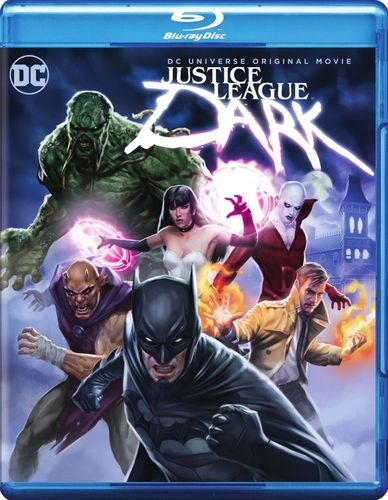 Justice League Dark [Includes Digital Copy] [UltraViolet] [Blu-ray/DVD] [2 Discs] [2017] 5706826