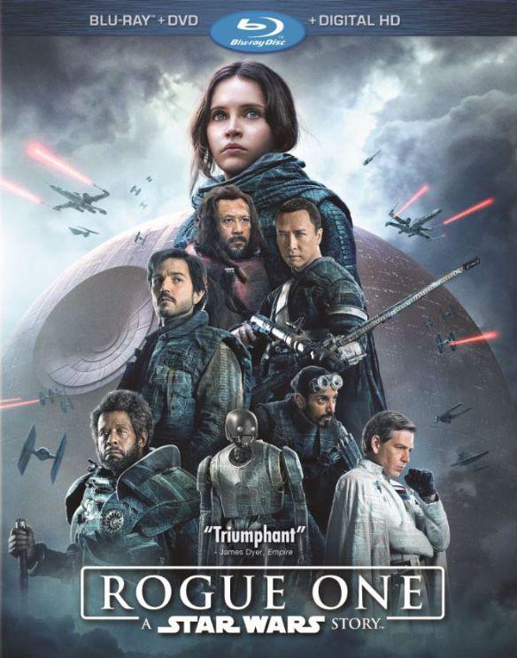 Rogue One: A Star Wars Story [Includes Digital Copy] [Blu-ray/DVD] [2016] 5707617