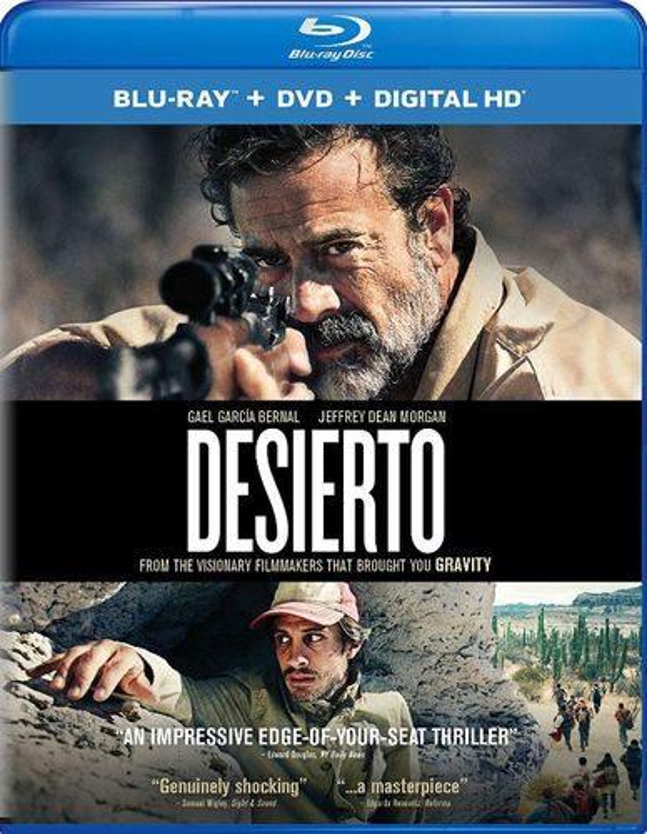 Desierto [Includes Digital Copy] [UltraViolet] [Blu-ray] [2 Discs] [2015] 5707799