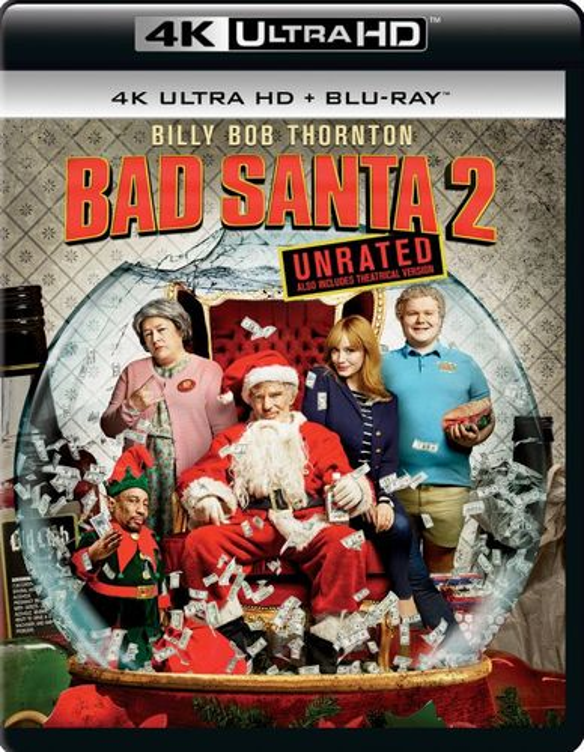 Bad Santa 2 [4K Ultra HD Blu-ray] [2016] 5707964