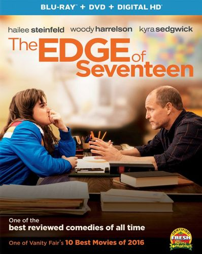 The Edge of Seventeen [Includes Digital Copy] [UltraViolet] [Blu-ray/DVD] [2 Discs] [2016] 5707967