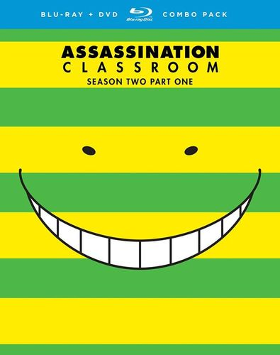Assassination Classroom: Season Two - Part One [Blu-ray] [4 Discs] 5707971