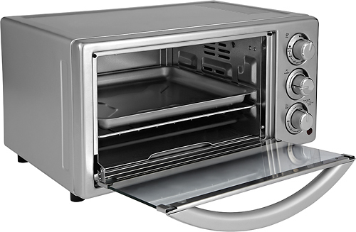 Oster TSSTTVF816 6-Slice Toaster Oven Stainless-Steel/Silver