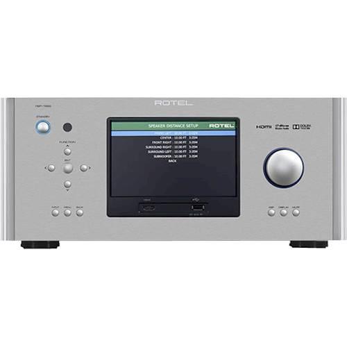 Rotel - 7.1 Home Theater Surround Sound Processor - Silver