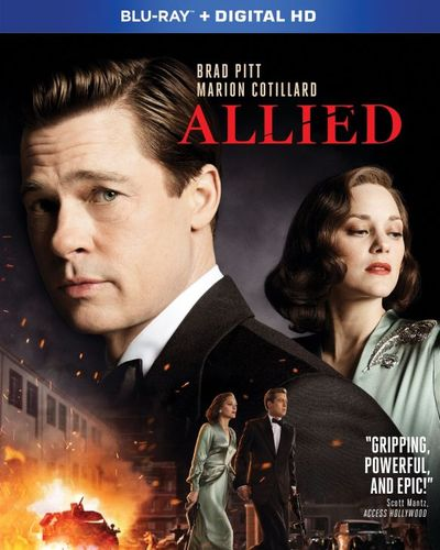 Allied [Includes Digital Copy] [Blu-ray] [2016] 5708707