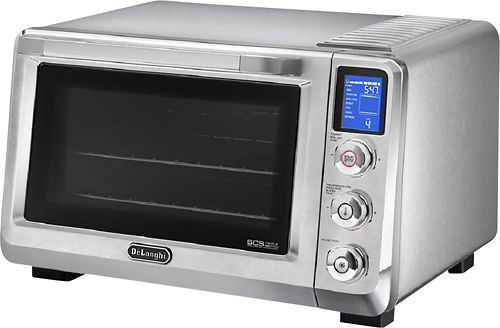 DeLonghi - Livenza Convection Toaster/Pizza Oven - Silver 5709034