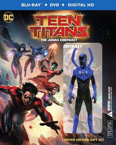 Teen Titans: The Judas Contract [Deluxe Edition] [Blu-ray] [2017]