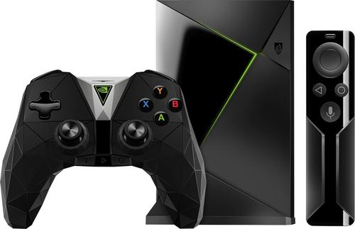NVIDIA - SHIELD TV Gaming Edition 16GB Streaming Media Player with Controller - Black
