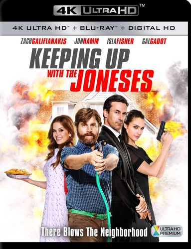 Keeping Up with the Joneses [Includes Digital Copy] [4K Ultra HD Blu-ray/Blu-ray] [2016] 5709730