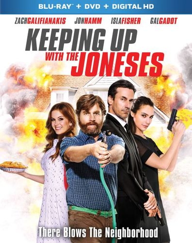 Keeping Up with the Joneses [Includes Digital Copy] [Blu-ray/DVD] [2016] 5709731