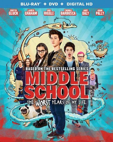 Middle School: The Worst Years of My Life [Blu-ray] [2016] 5709858