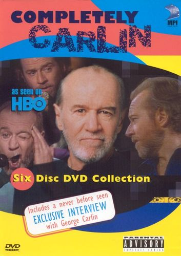 Completely Carlin [6 Discs] [DVD] 5709904