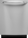 """GE 24"""" Tall Tub Built-In Dishwasher with Stainless Steel Tub Stainless Steel GLDT696DSS"""