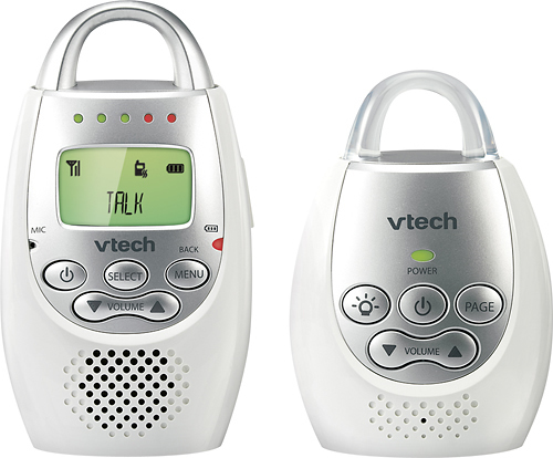 VTech - DM221 Audio Baby Monitor with up to a 1000' Range - White