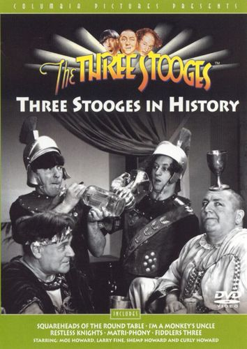 The Three Stooges: Three Stooges in History [DVD] 5710251
