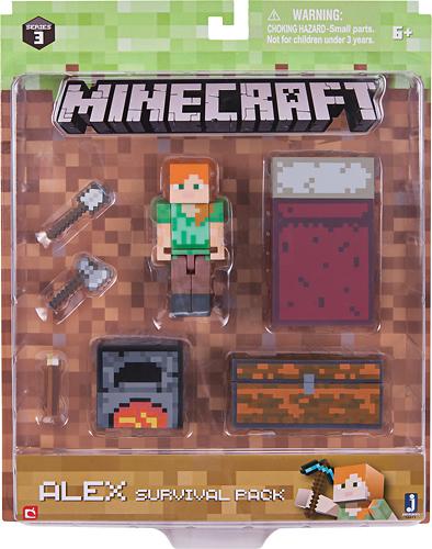 Jazwares - Minecraft Series 3 Survival Pack 5710463