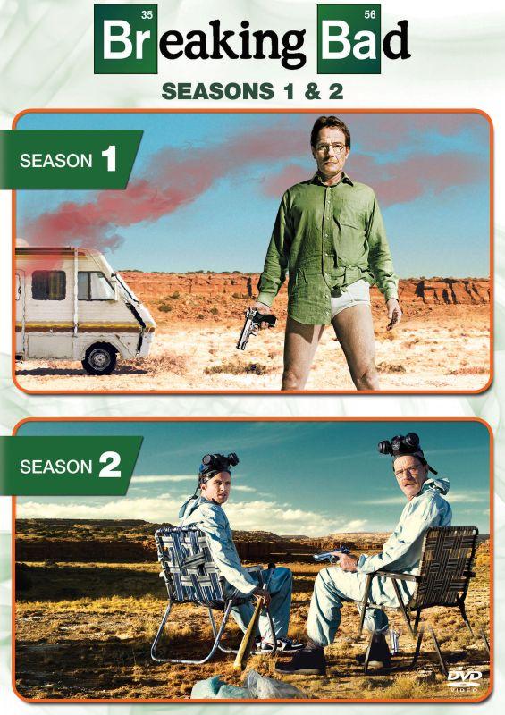 Breaking Bad: Seasons 1 and 2 [7 Discs] [DVD] 5711035
