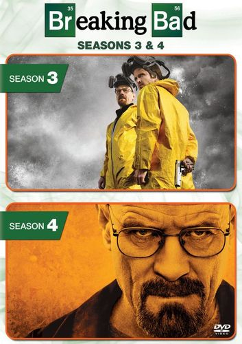 Breaking Bad: Season 3 and 4 [8 Discs] [DVD] 5711037