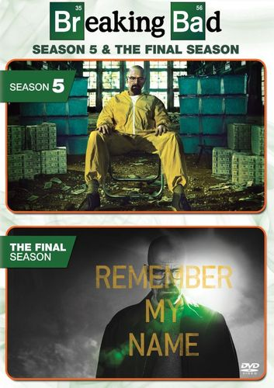Breaking Bad: Season 5 and the Final Season [DVD] 5711038
