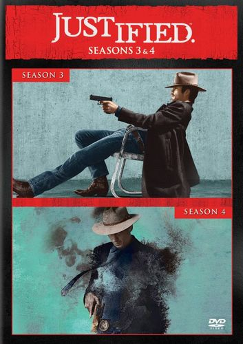 Justified: Seasons 3 and 4 [6 Discs] [DVD] 5711040