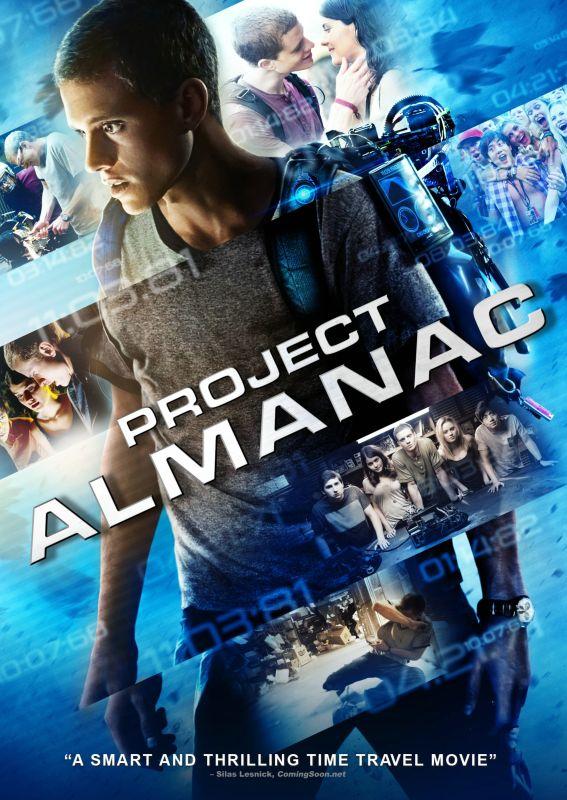 Project Almanac [DVD] [2015] 5711160