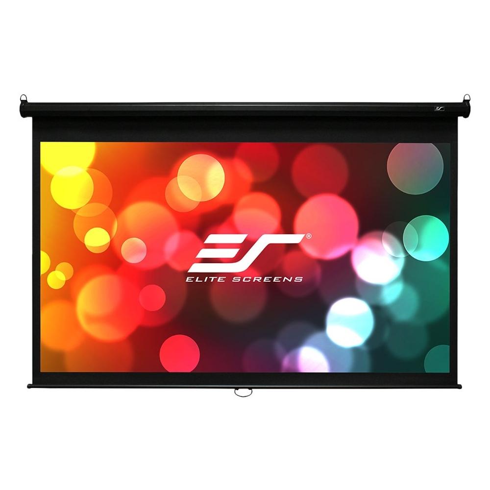 "Elite Screens Manual B Series 120"" Projector Screen Black M120X"