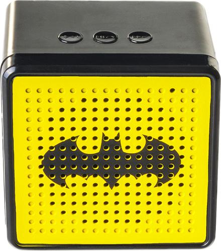 Batman - Portable Bluetooth Speaker - Black/yellow