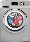 Haier - 2 Cu. Ft. 8-cycle Compact Washer And 3-cycle Dryer C